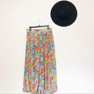 Dresses & Skirts - Vintage silk skirt